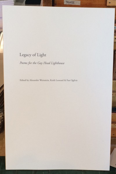 Legacy of Light digitally-produced book